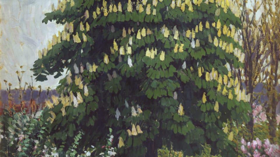 František Kupka,  'Le châtaignier en floraison',  1906