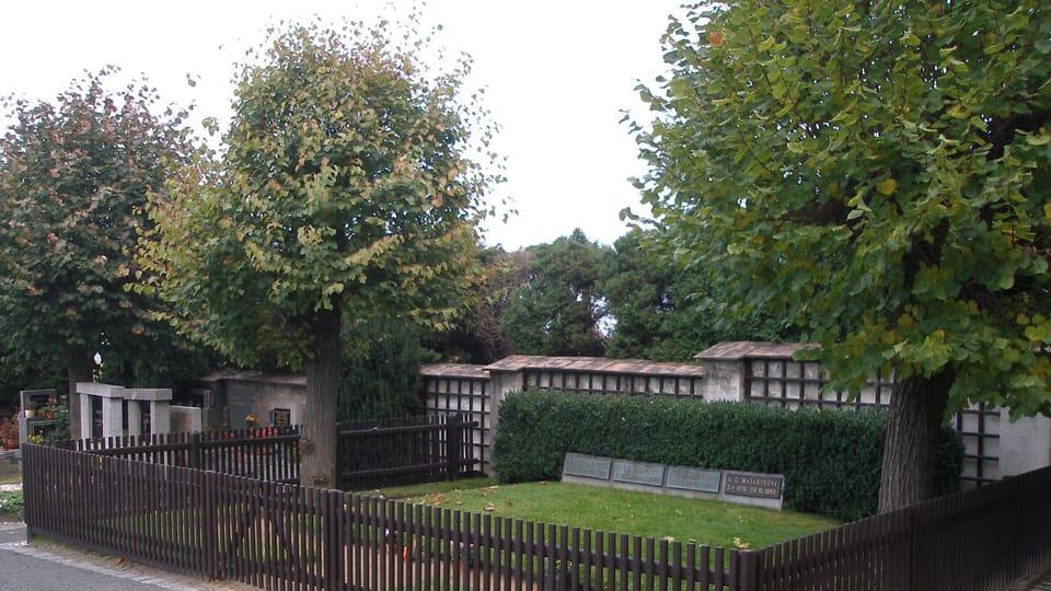 La tombe du Tomáš Garrigue Masaryk,  photo: Jan Polák,  CC BY-SA 3.0