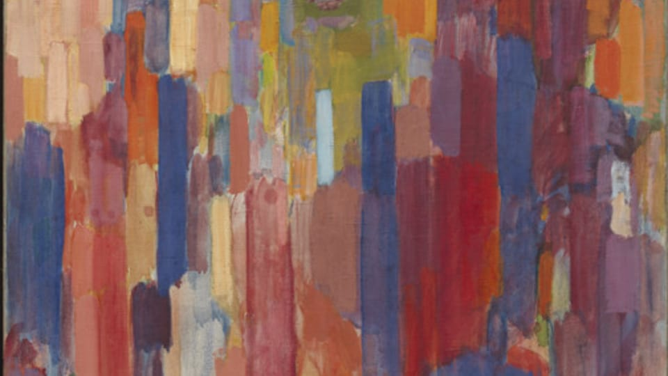 František Kupka,  'Madame Kupka dans les verticales',  1910-1911,  photo: © Adagp,  Paris 2018 © Digital image,  The Museum of Modern Art,  MoMA,  New York / Scala,  Florence