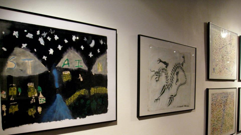 'Peintures d'enfants de l'Himalaya',  photo: Denisa Tomanová