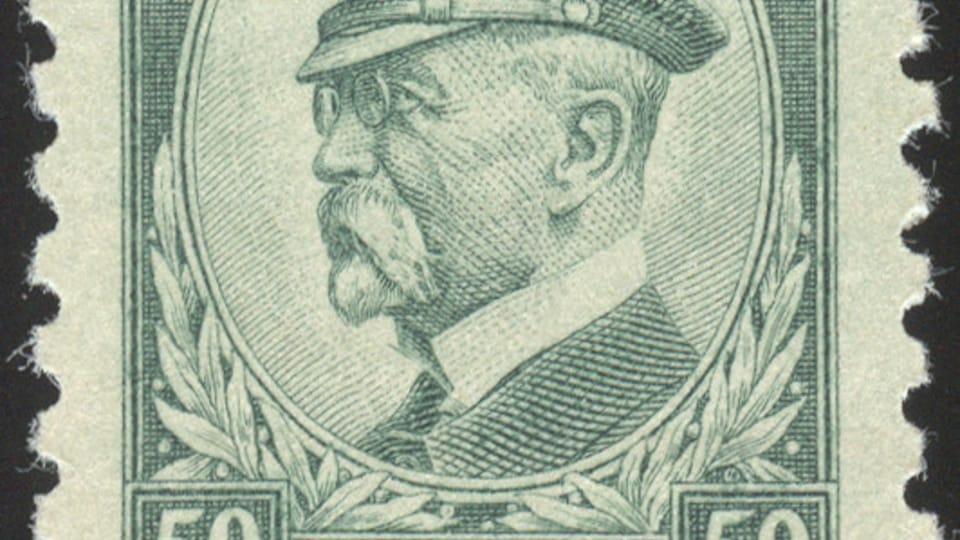 Tomáš Garrigue Masaryk,  photo: Musée de la poste