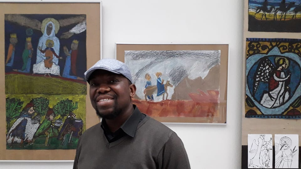 Georges Makonzo Mondo,  photo: Guillaume Narguet
