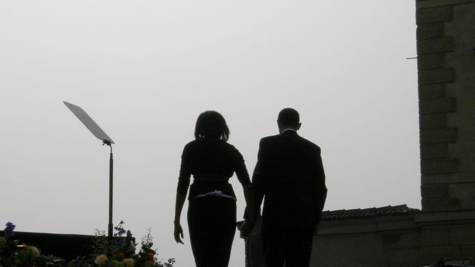 Michelle et Barack Obama,  photo: Štěpánka Budková