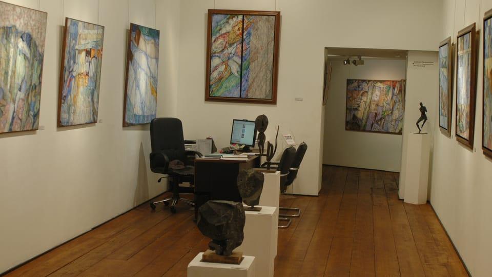 Atelier d'Ildar Youssoupov,  photo: Archives d'Ildar Youssoupov