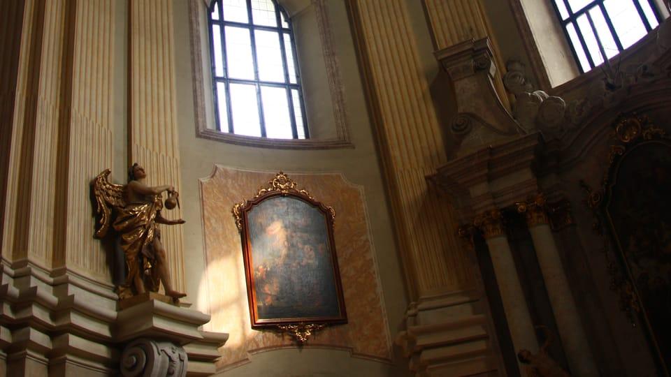 L'église de pèlerinage mariale de Křtiny,  photo: Štěpánka Budková