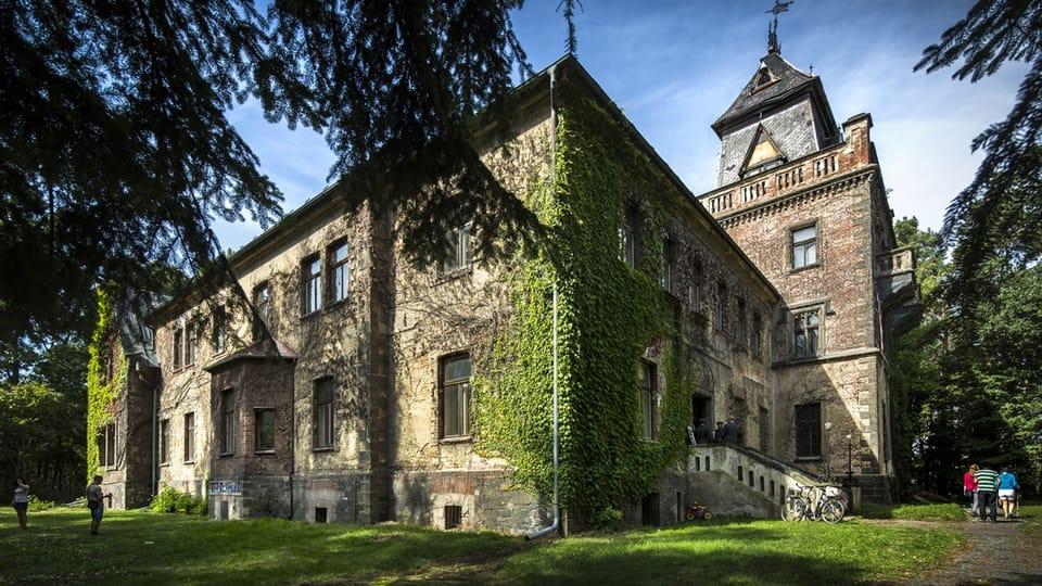 La villa Larisch,  photo: Tomáš Kubelka,  ČRo Pardubice