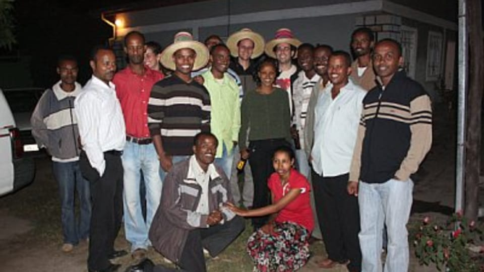 Les employés de l'ONG People in Need à Awassa,  Ethiopie