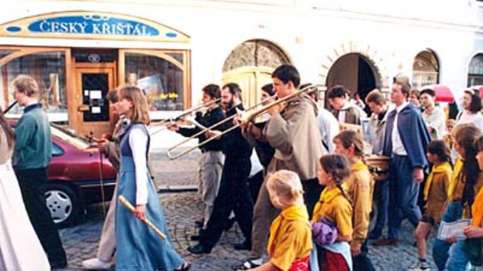 La procession à Jindrichuv Hradec,  1996
