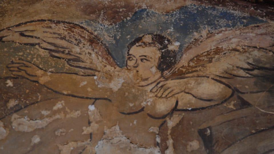 Les fresques au château de Qusair Amra,  photo: Břetislav Tureček