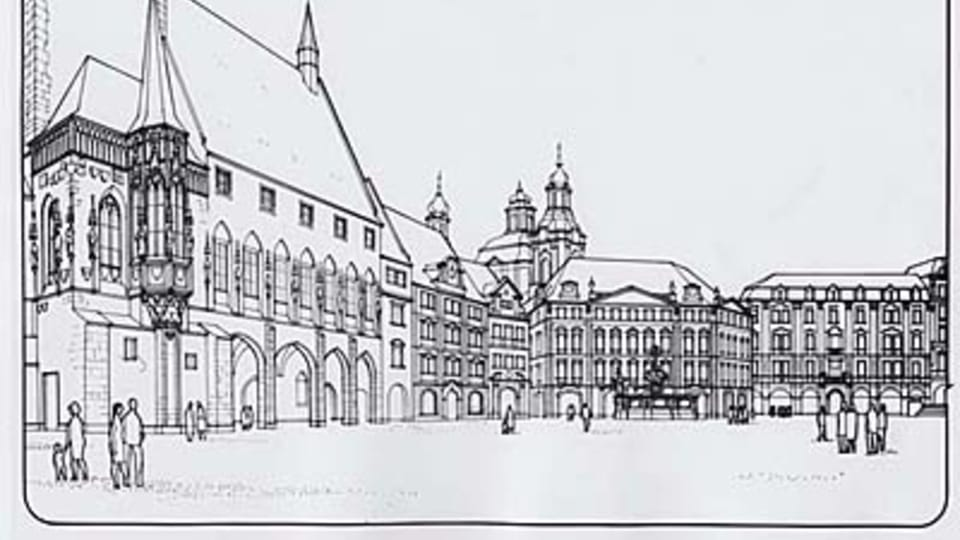 Le projet des architectes Milan Pavlík et František Kašička