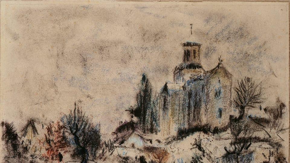 Bohuslav Reynek,  'L'église de Corenc',  1930,  photo: Romarin
