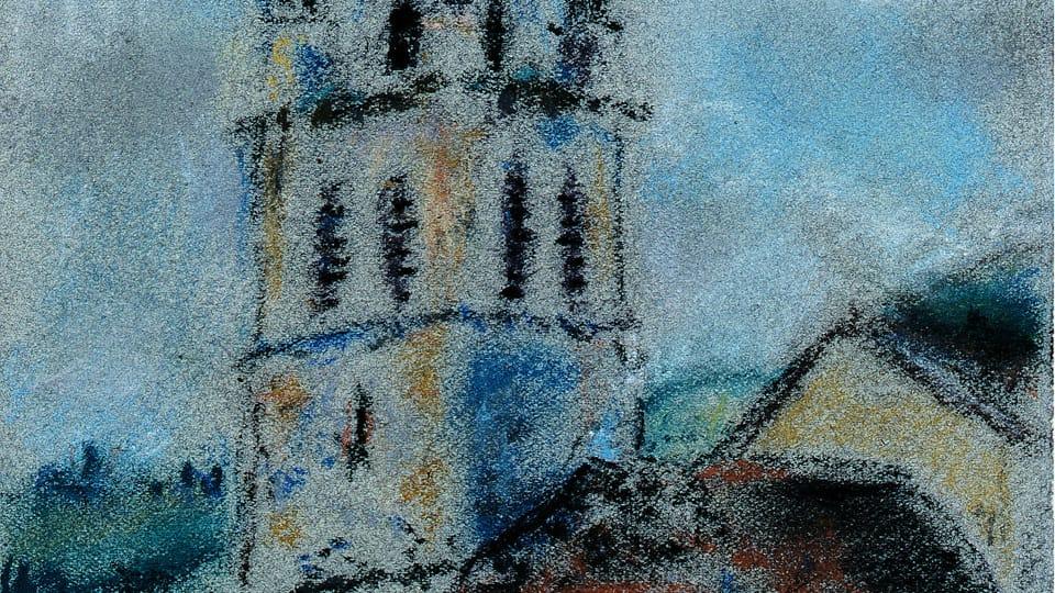 Bohuslav Reynek,  'L'église de Vaulnaveys-le-Haut',  1929,  photo: Romarin