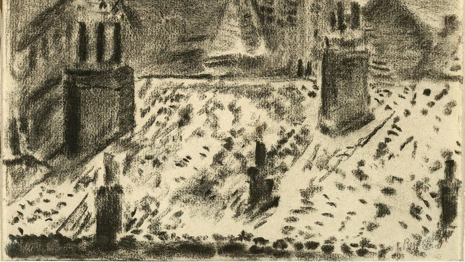 Bohuslav Reynek,  'L'église Saint-Joseph de Grenoble',  1933,  photo: Romarin
