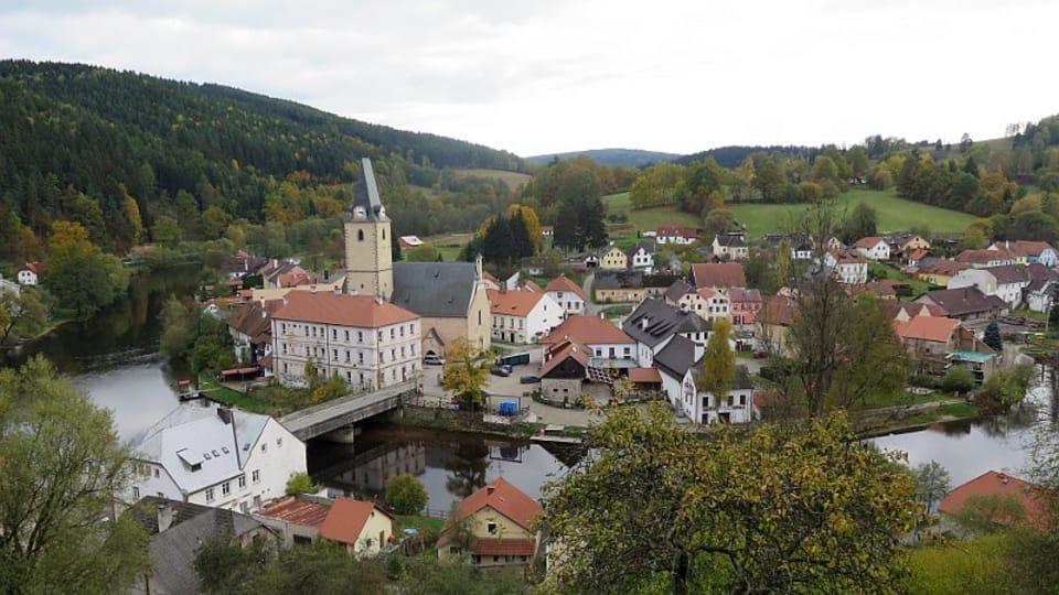 Rožmberk et les méandres de la rivière Vltava,  photo: Vojtěch Ruschka
