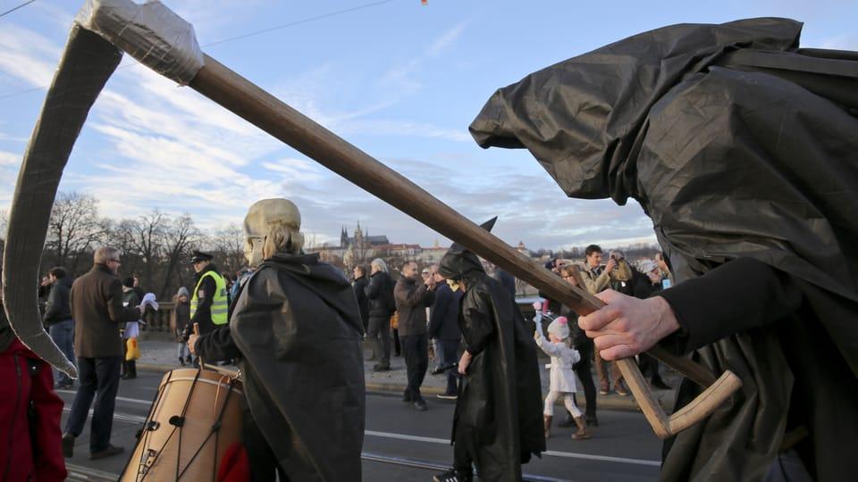 Le Carnaval de velours en 2015,  photo: Archives de l'association Fór_um