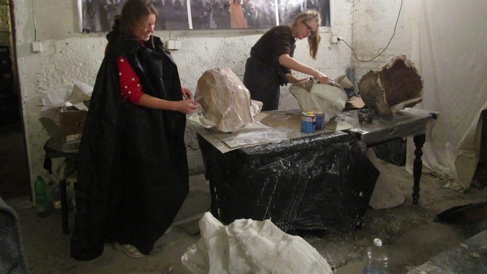 L'atelier de Sametové posvícení,  photo: Alžběta Ruschková