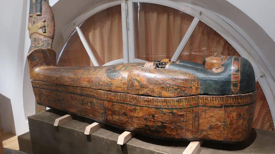 Un sarcophage,  photo: Martina Schneibergová