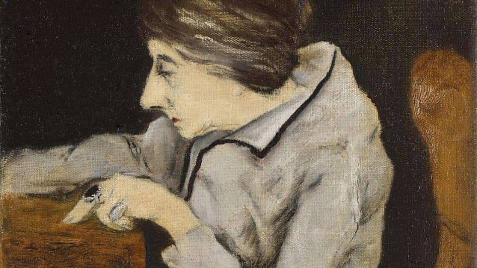 Josef Šíma,  'Le portrait de Louise-Denise Germain',  1922 / Centre tchèque de Paris