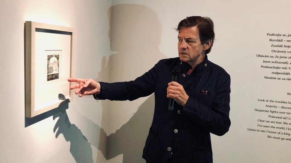 Petr Sís,  photo: Ian Willoughby