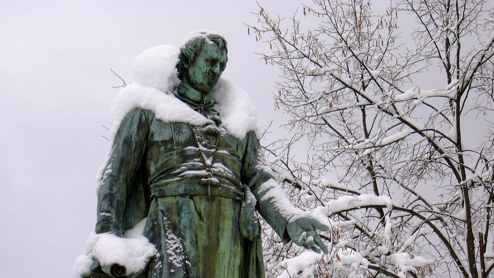 La statue de J. W. Goethe,  photo: Archives de Radio Prague Int.