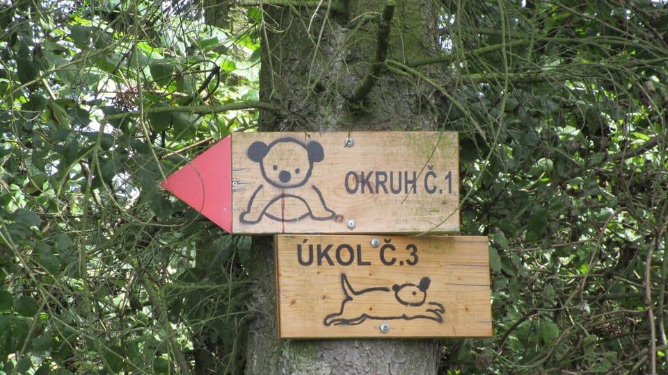 Le sentier éducatif,  photo: Vojtěch Ruschka