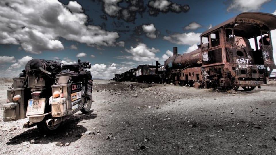 Bolivie,  photo: Pavel Suchý / Site officiel de Jawa kolem světa