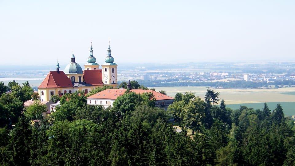 Le site de pèlerinage de la Sainte-Colline près d'Olomouc et l'église de la Visitation-de-la-Vierge,  photo: Vyty77,  CC BY 3.0