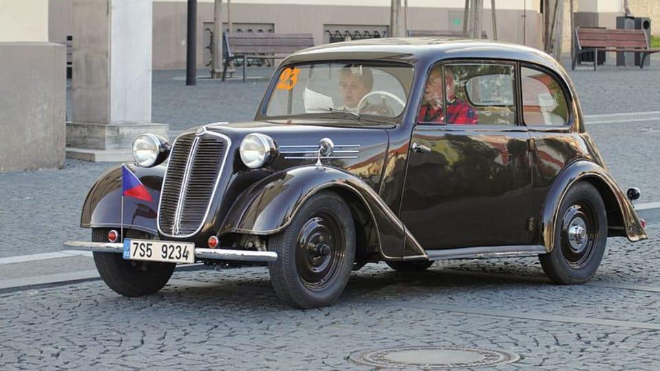 Tatra 57,  photo: M.Rejha,  CC BY-SA 3.0 Unported