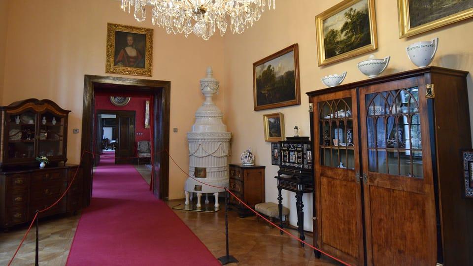 Château de Telč,  photo: Ondřej Tomšů