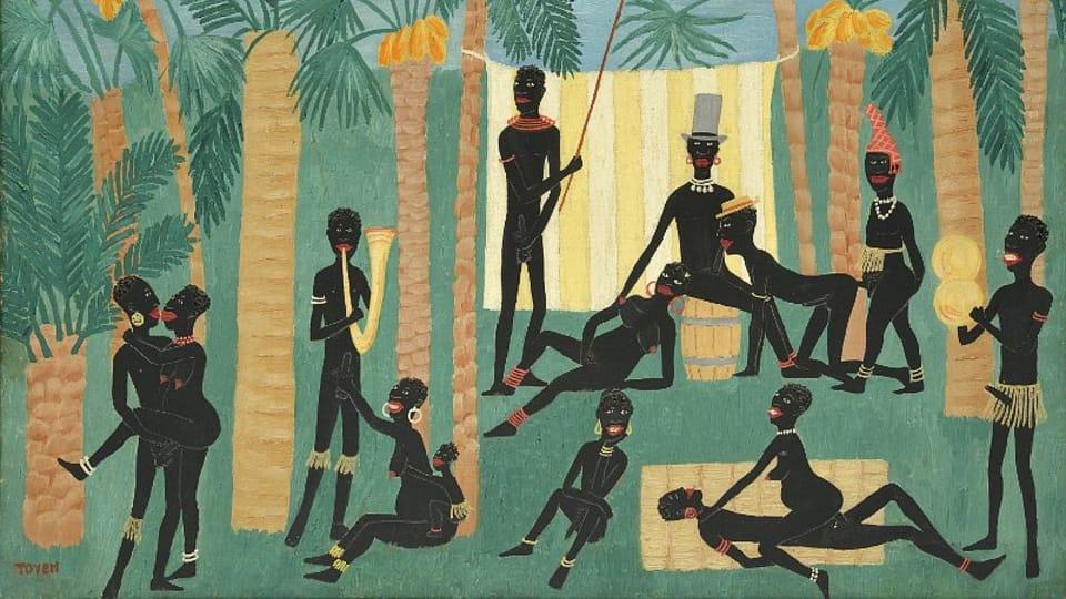Toyen,  'Le Paradis des noirs',  1925 / Centre tchèque de Paris