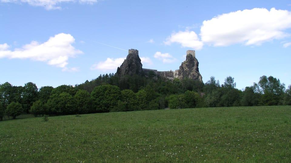 La ruine du château fort de Trosky,  photo: Barbora Němcová
