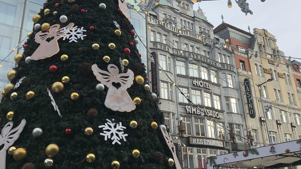 Le thème de l'année,  'Les anges à Noël',  photo: Camille Montagnon