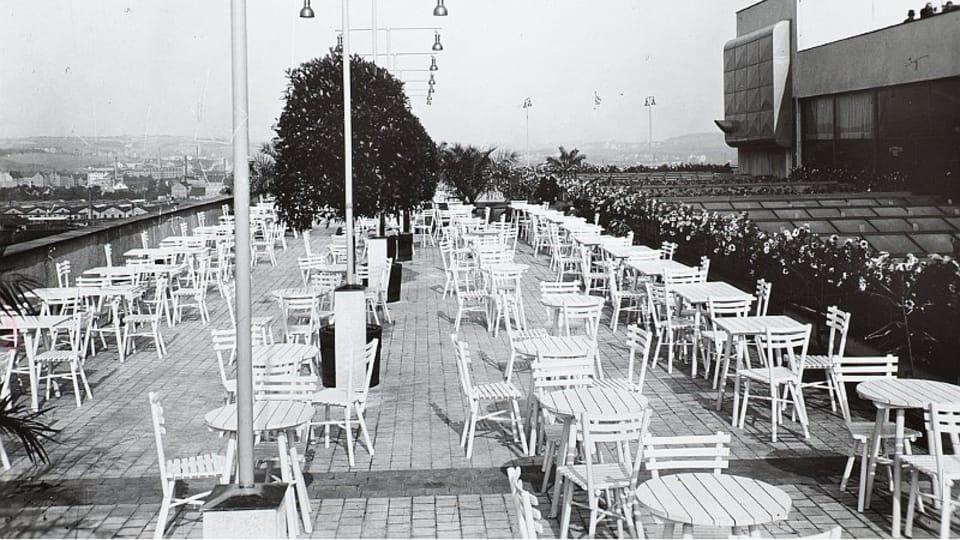 Palais des foires dans les années 1920,  photo: Site officiel de la Galerie nationale