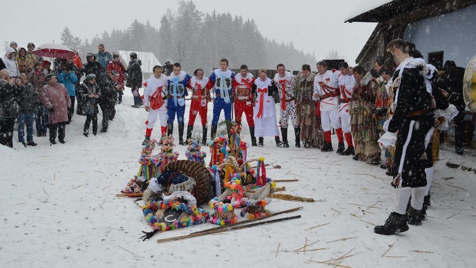 Masopust à Veselý Kopec,  photo: Klára Bezděčková