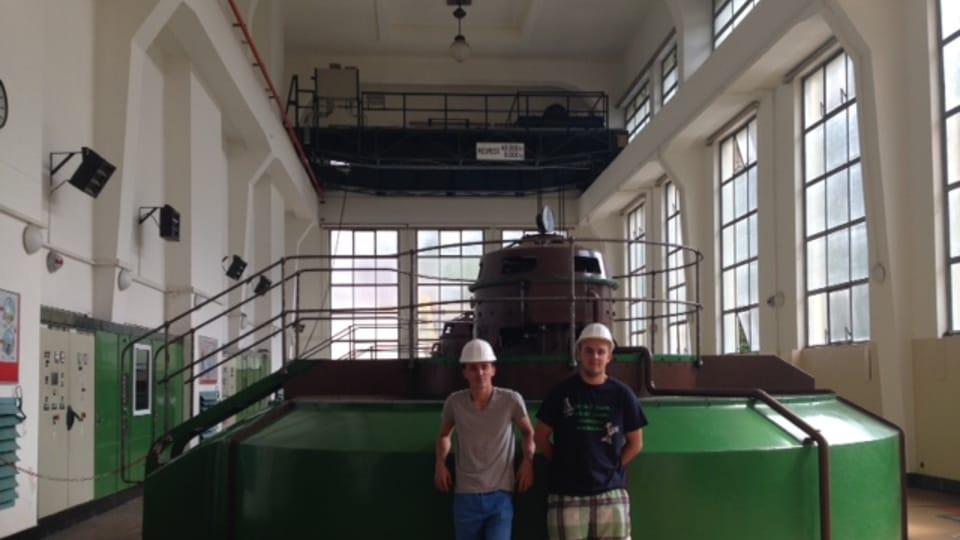 La centrale hydraulique de Vranov nad Dyjí,  photo: Soňa Jarošová