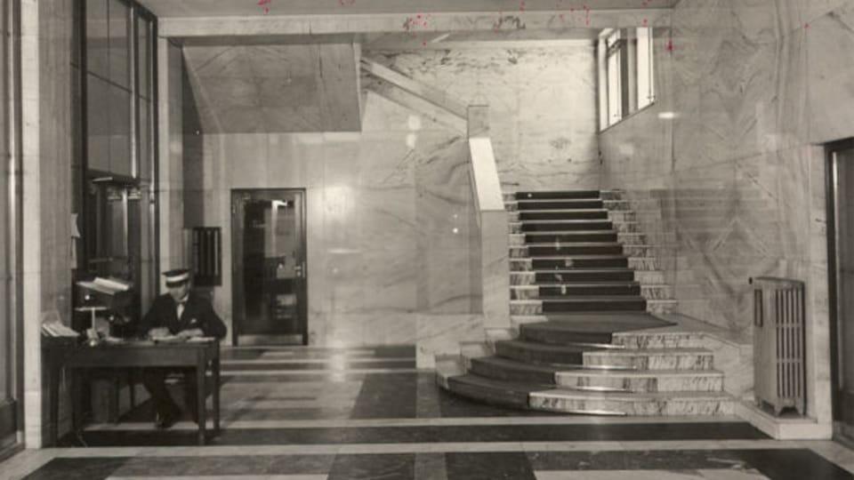 Les changements dans le hall d'entrée du bâtiment principal. Photo: APF ČRo