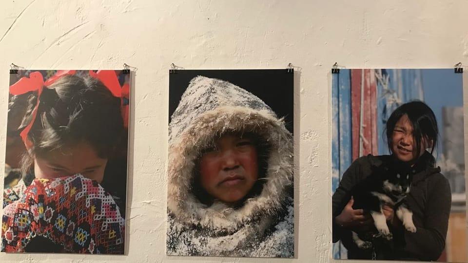 Exposition La République tchèque en Arctique et l'Arctique en République tchèque,  par l'université de Bohême du Sud,  photo: Camille Montagnon