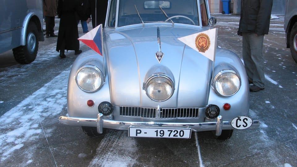 Tatra 87 | Photo: Elena Horálková,  ČRo
