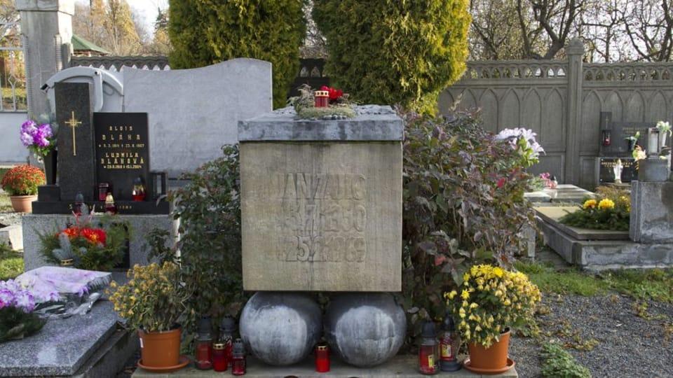 La tombe de Jan Zajíc,  photo: Pamětní místa / Ústav pro soudobé dějiny AV ČR