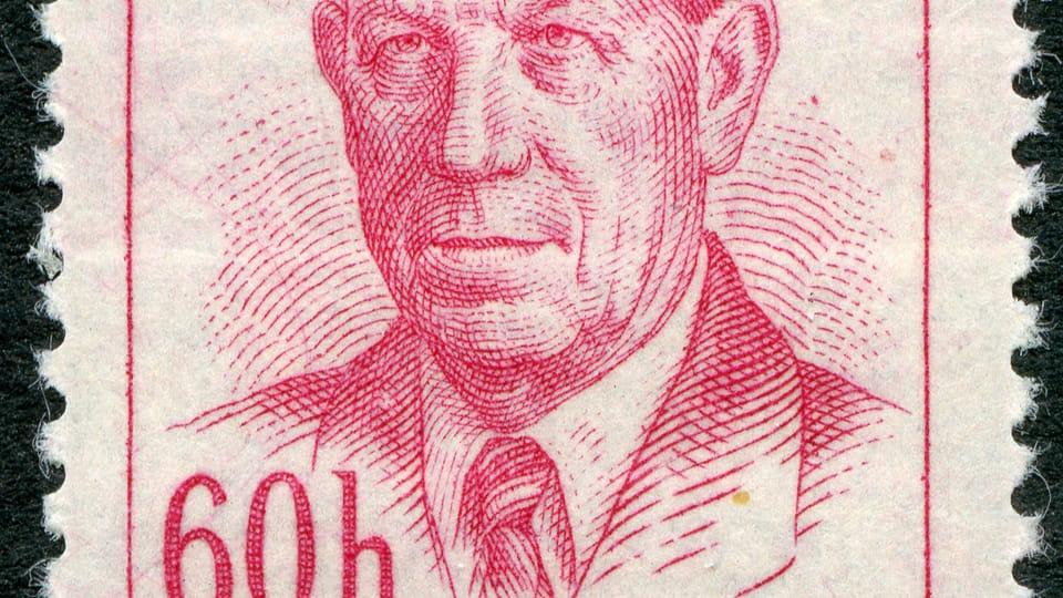 Antonín Zápotocký,  photo: Musée de la poste