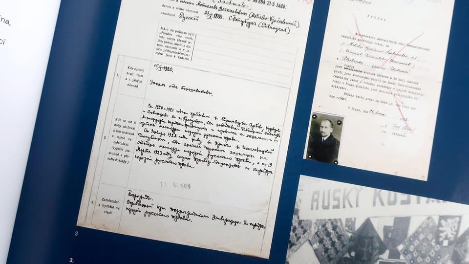 Photo: repro Zkušenost exilu / Památník národního písemnictví