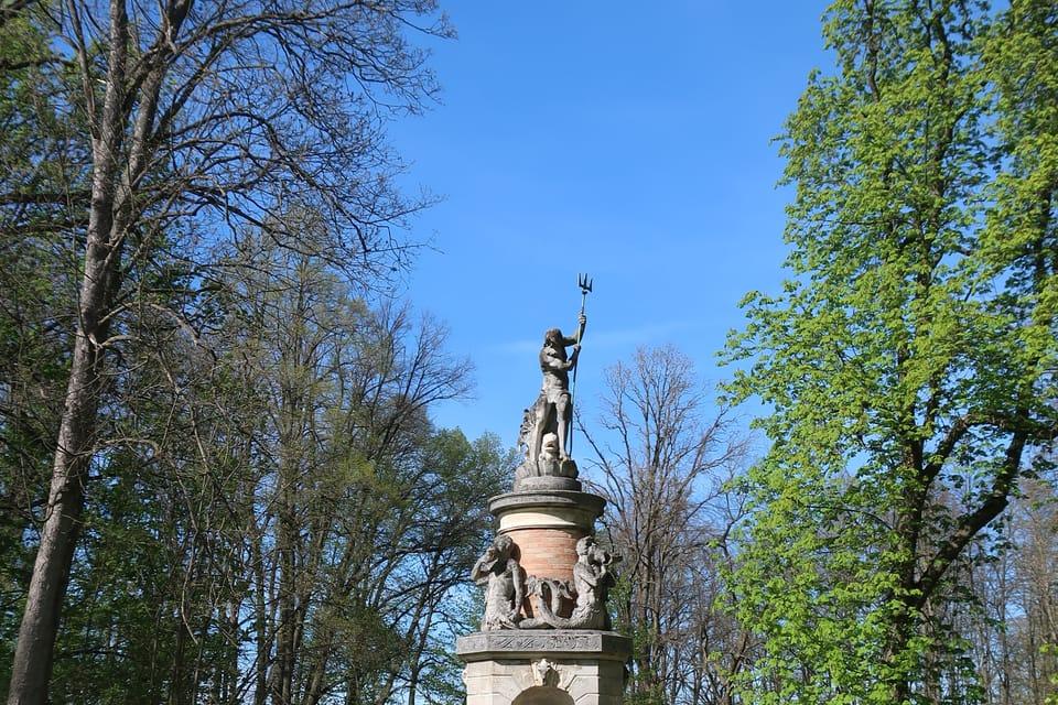 La fontaine de Neptune   Photo: Štěpánka Budková,  Radio Prague Int.