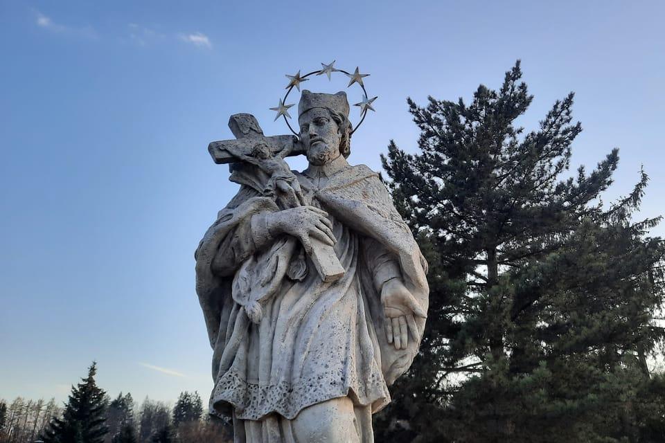 Saint Jean Népomucène | Photo: Markéta Kachlíková,  Radio Prague Int.