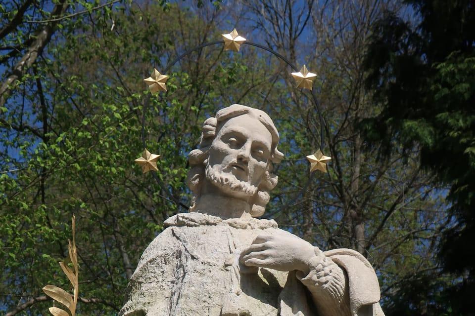 Saint Jean Népomucène à Konopiště | Photo: Štěpánka Budková,  Radio Prague Int.