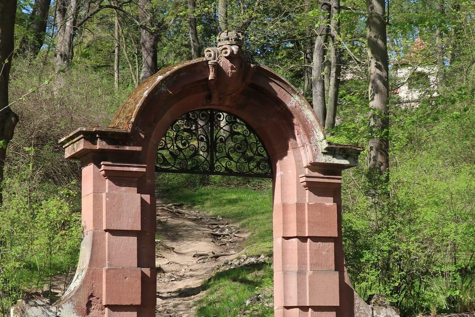Le parc du château de Konopiště   Photo: Štěpánka Budková,  Radio Prague Int.