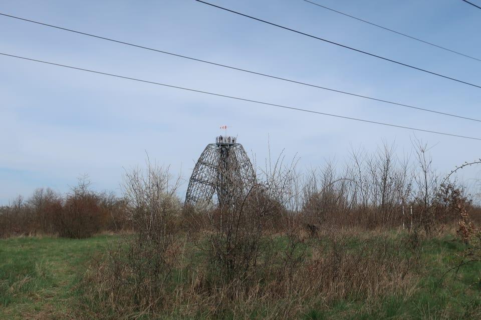 La tour Doubravka à Prague - Kyje | Photo: Štěpánka Budková,  Radio Prague Int.