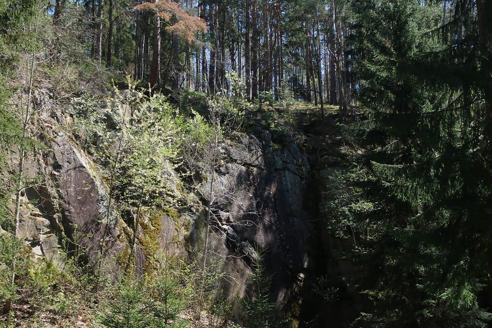 Měsíční údolí  (La vallée de la lune)   Photo: Štěpánka Budková,  Radio Prague Int.