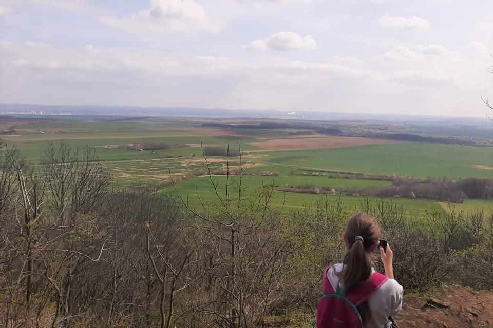 La vue du mont Říp   Photo: Lenka Žižková,  Radio Prague Int.