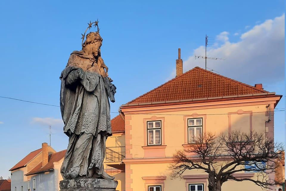 Saint Jean Népomucène à Kardašova Řečice | Photo: Markéta Kachlíková,  Radio Prague Int.