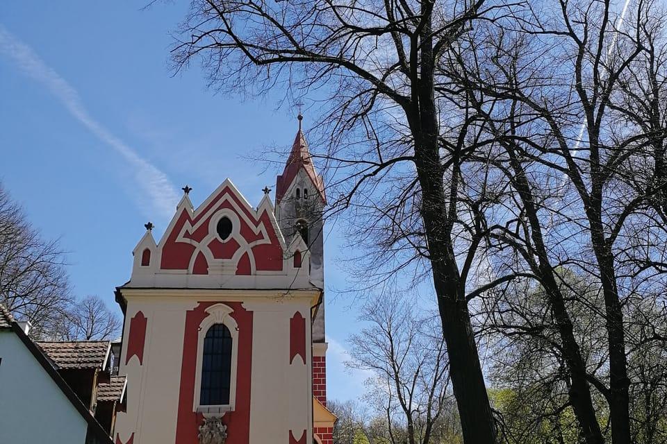 L'église Saint-Havel à Poříčí nad Sázavou   Photo: Štěpánka Budková,  Radio Prague Int.